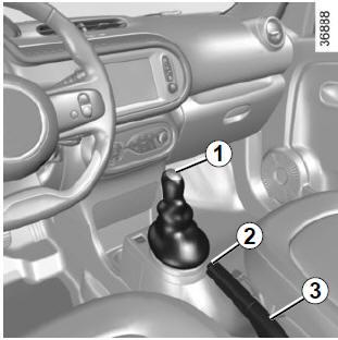 renault twingo levier de vitesses frein main la conduite conseils d 39 utilisation li s l. Black Bedroom Furniture Sets. Home Design Ideas